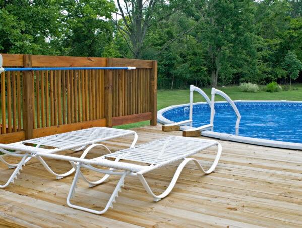 pool deck Warwick ri